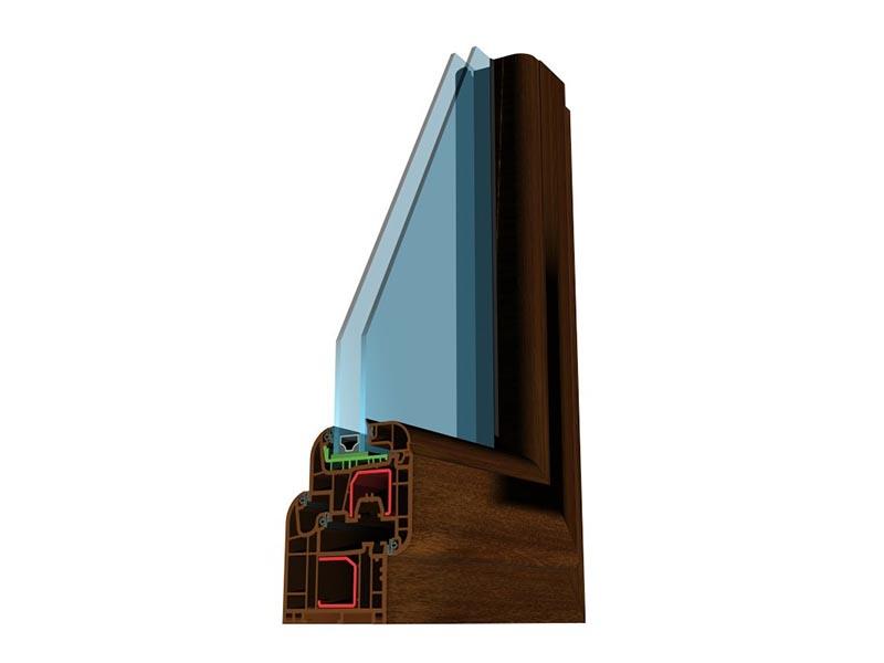 Profil PVC Brügmann AD Kolor