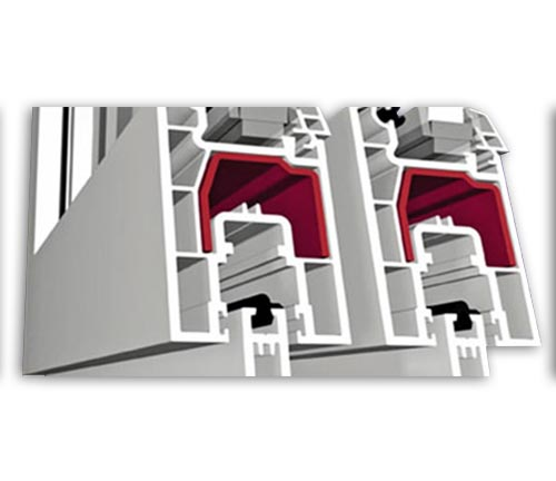 Profil PVC 5 camere Bauplast