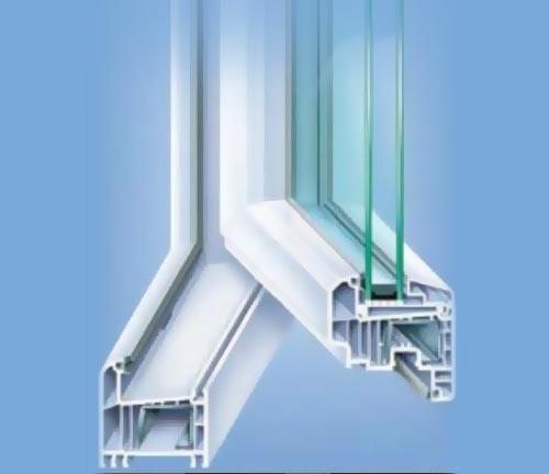 Profil PVC 4 camere Bauplast