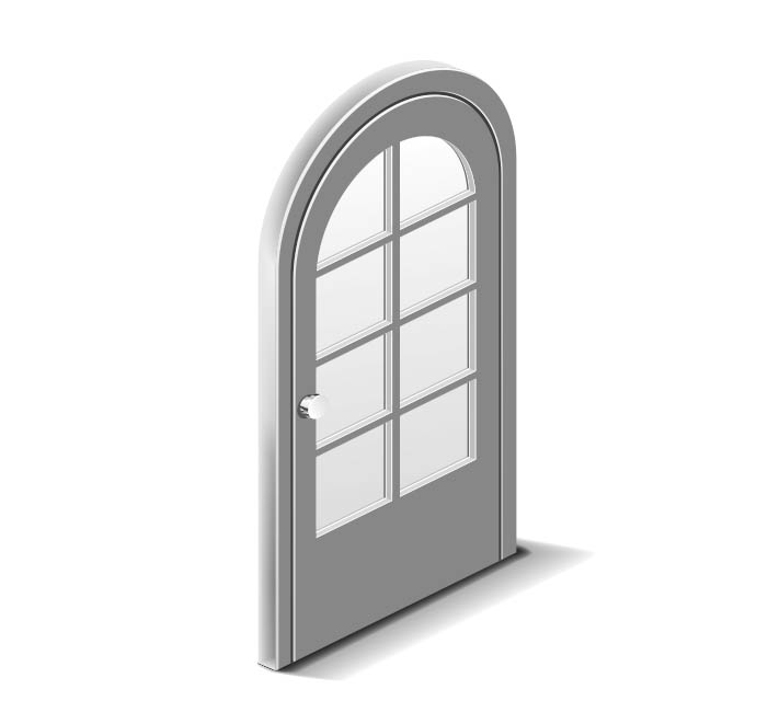 Usi PVC cu geam termopan si/sau panel