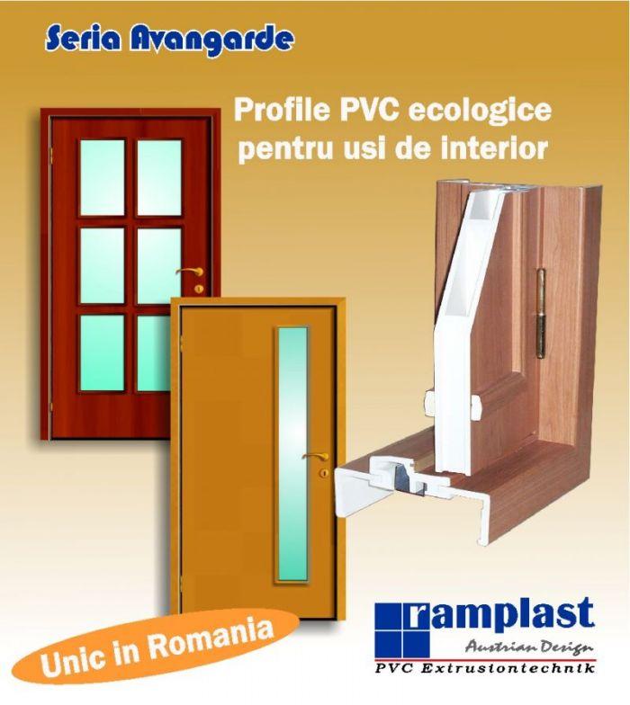 Profil PVC Ramplast seria Avangarde pentru usi de interior
