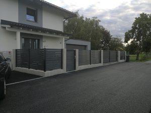 Gard aluminiu 1