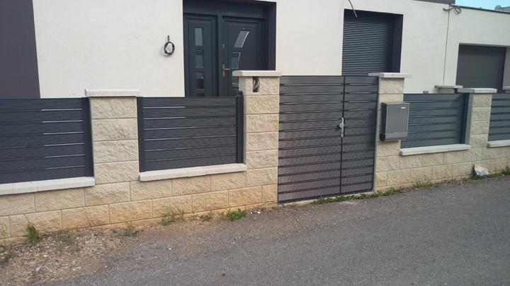 Gard aluminiu 2