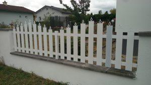 Gard aluminiu cu ornament 2